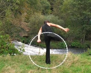 hooping foot carry