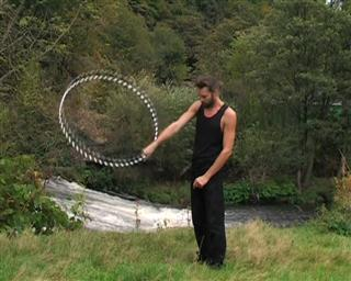 hooping figure of eight